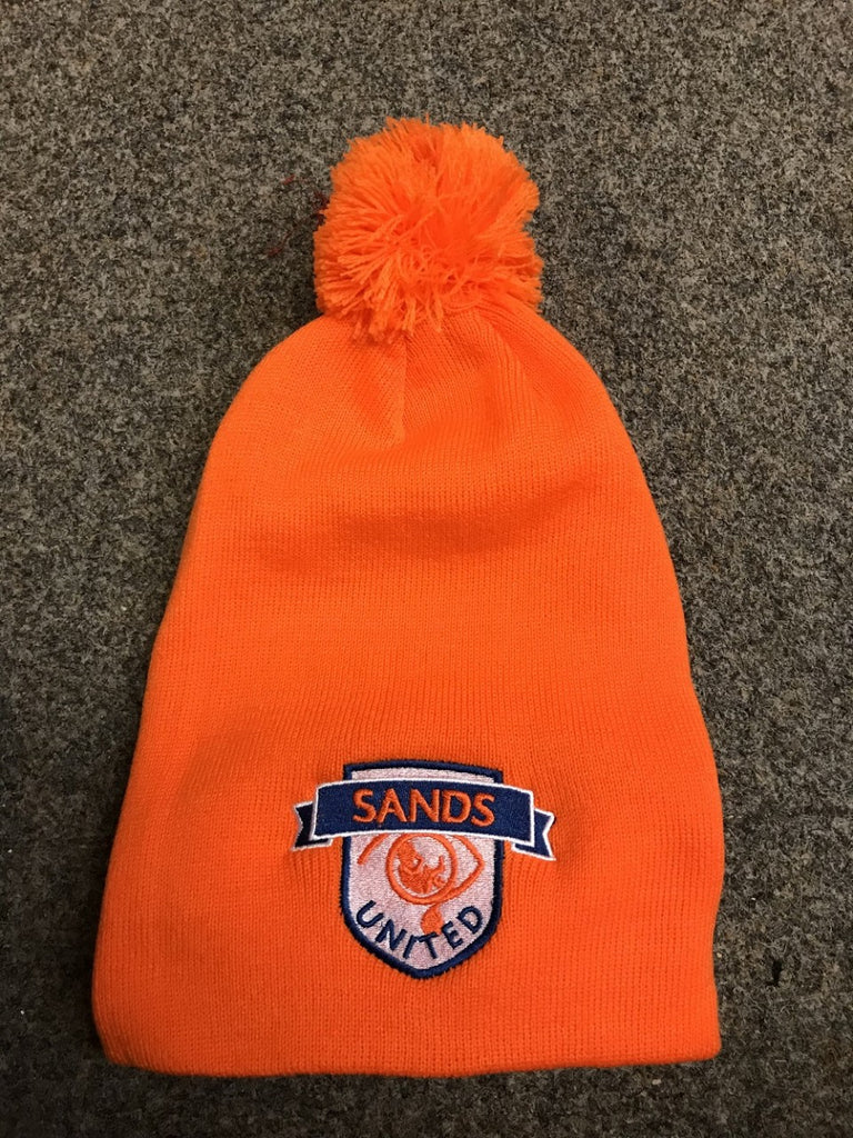 Sands F.C Bobble Slouch Beanie Hat