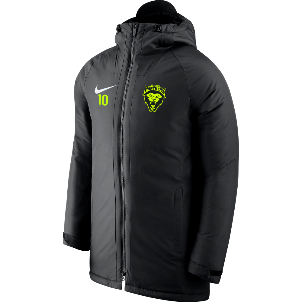 Nike Santos Panthers Academy 18 Sideline Fill Jacket Black