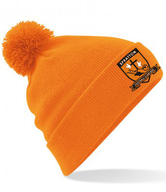 Spratton FC Bobble Beanie Hat