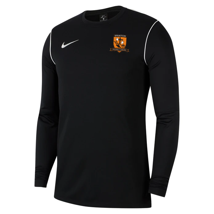 Spratton FC Junior Nike Park 20 Crew Top Black