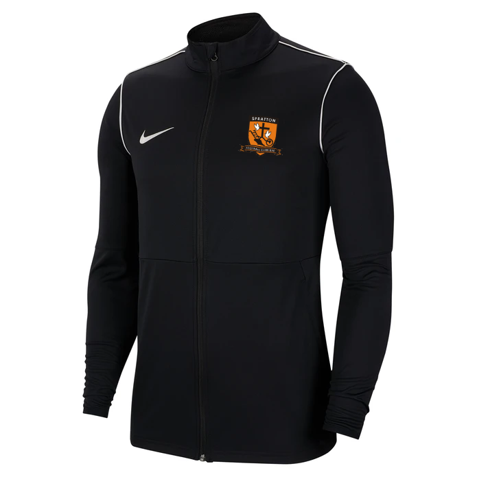 Spratton FC Adult Nike Park 20 Knit Track Jacket Black