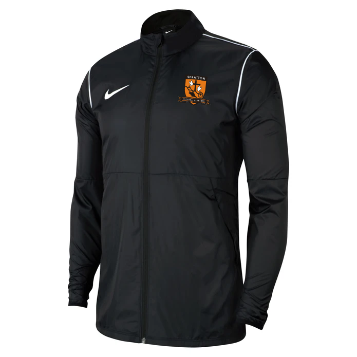 Spratton FC Adult Nike Park 20 Rain Jacket Black