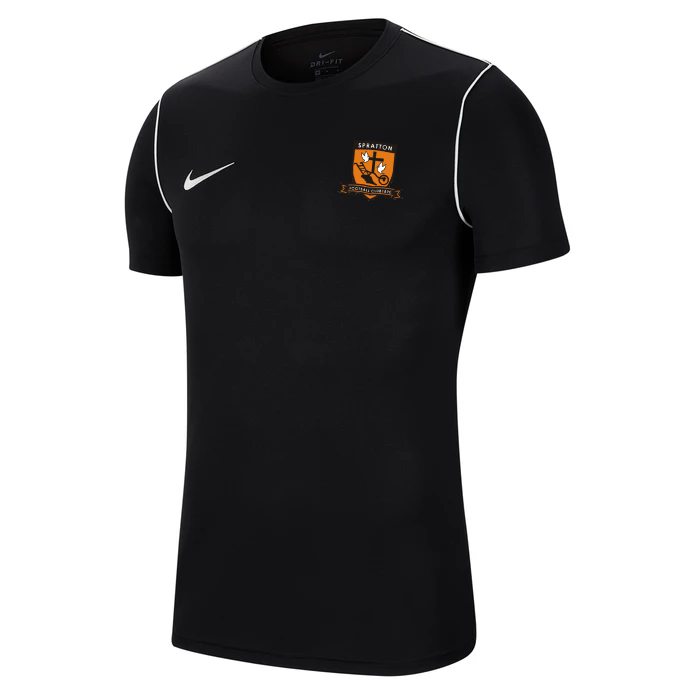 Spratton FC Junior Nike Park 20 Tee Black