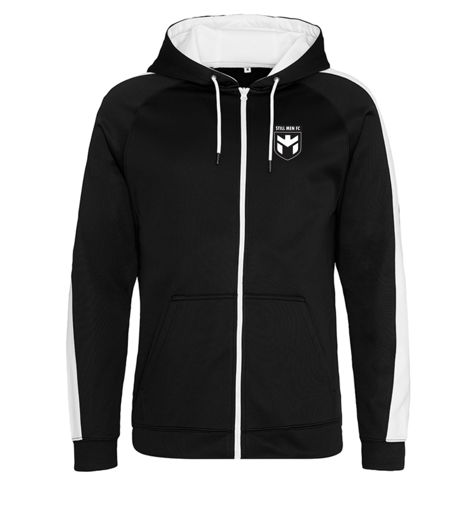 Still Men Zipped Polyester Hoodie