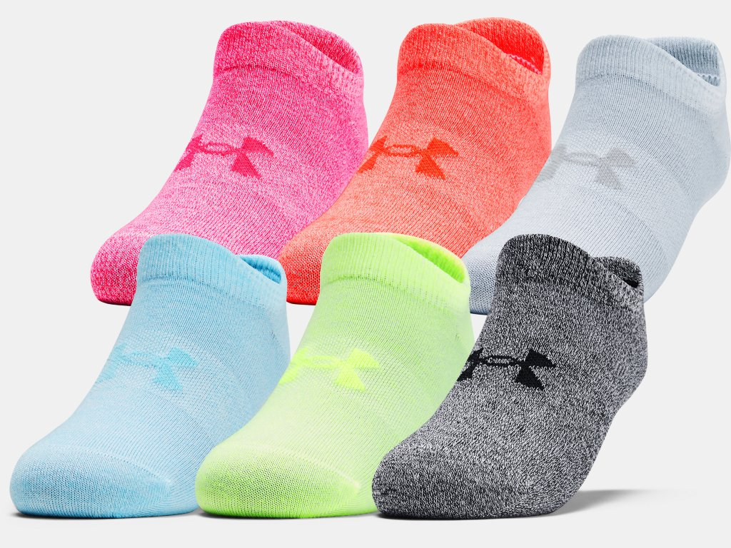 Under Armour Women's Essential No Show Socks UK3-7.5