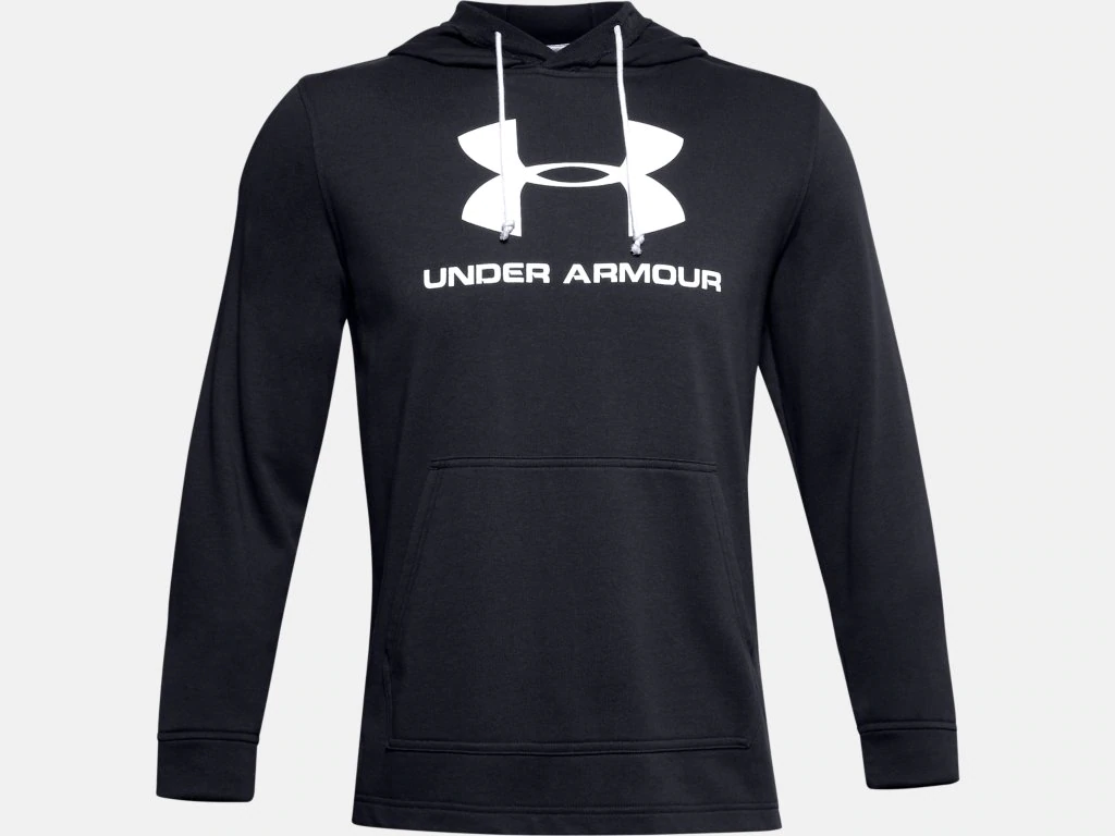 Under Armour Sportstyle Terry Logo Mens Hoodie
