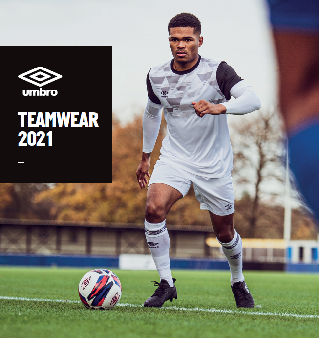 Umbro 2021 Teamwear Brochure