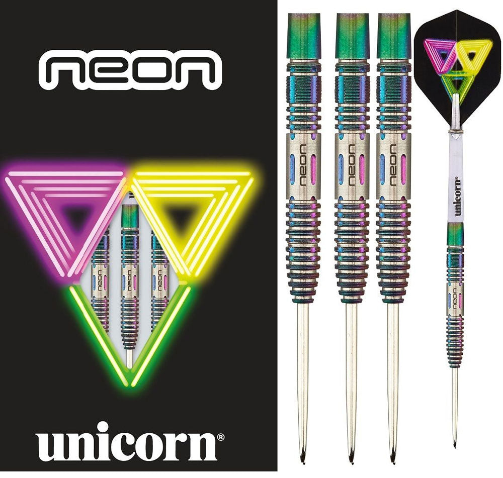 Unicorn Neon 2 90% Darts