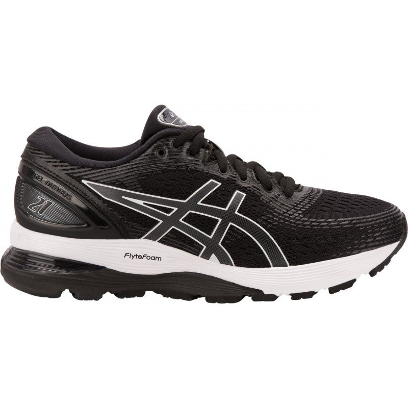 Asics Gel-Nimbus 21 Womens Black/White