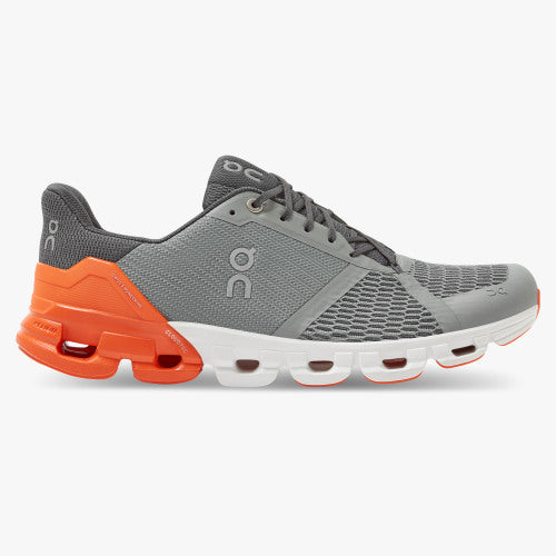 ON Cloudflyer Mens Grey/Orange