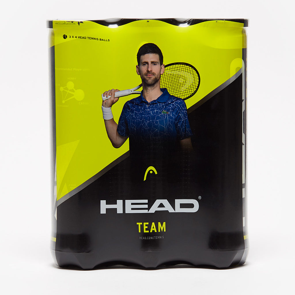 Head Team Tri - Pack Tennis Balls