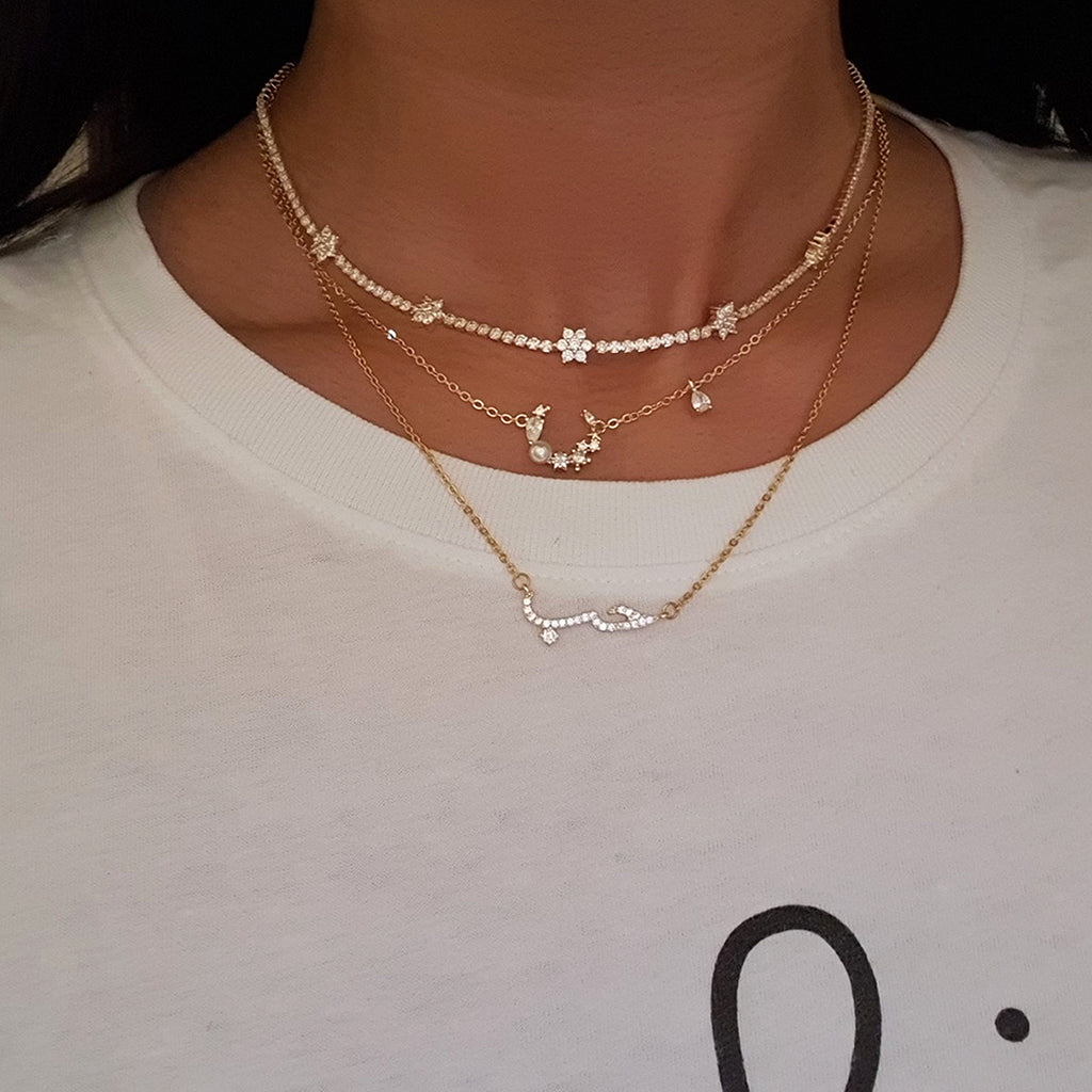 layering jewellery, dainty jewellery uk, dainty necklaces gold, 14k gold necklace, 18k gold necklaces