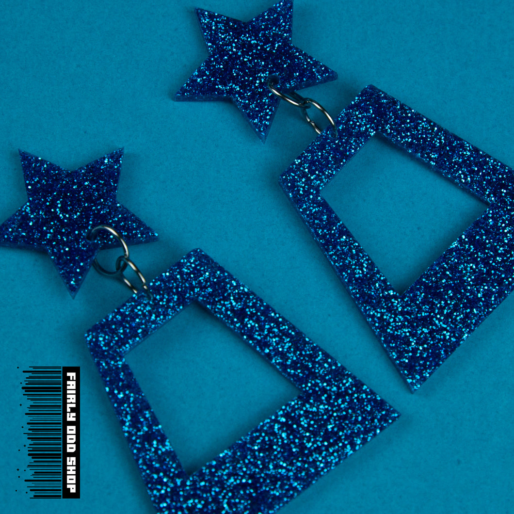 Fairly Odd Earrings - Glitter