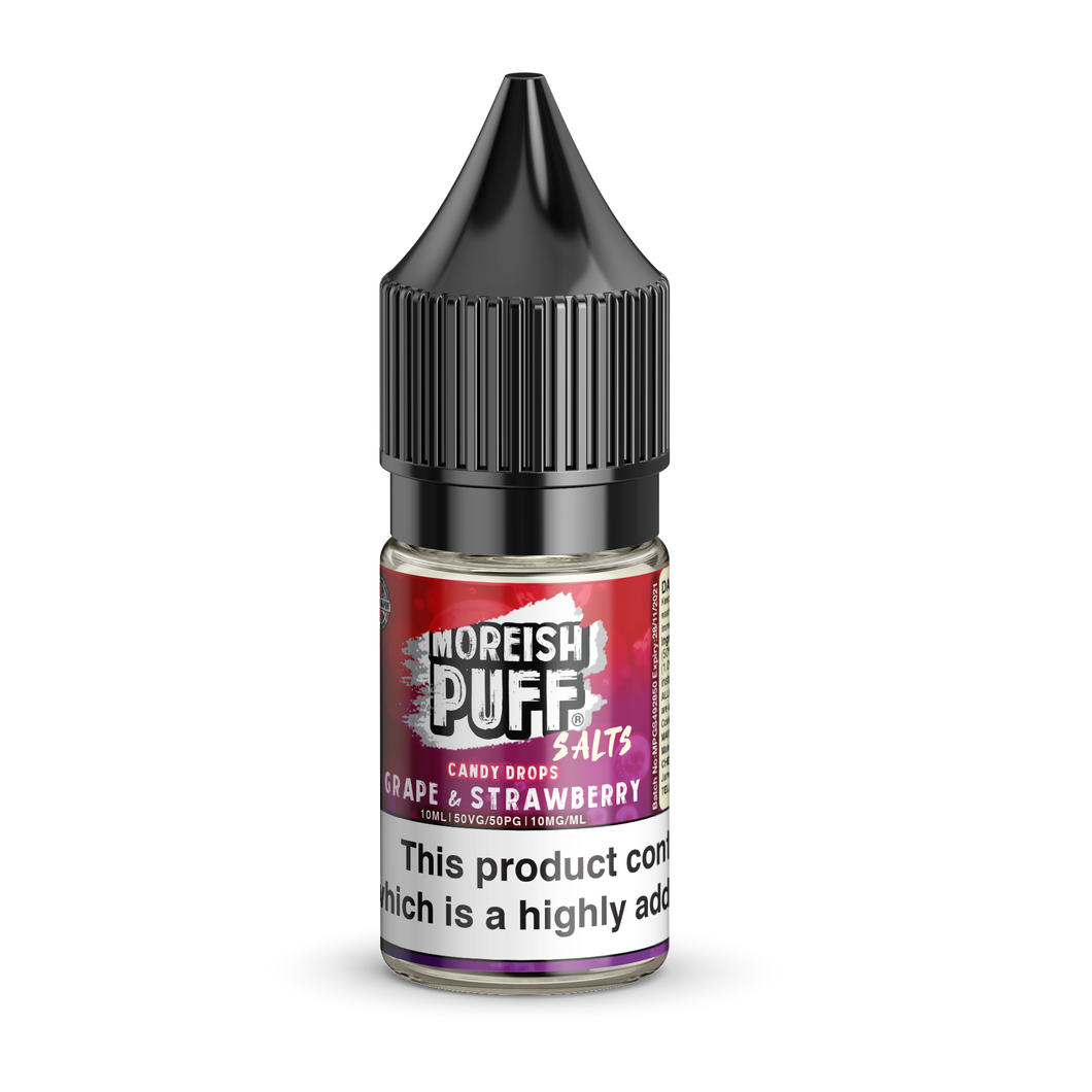 Moreish Grape & Strawberry Candy Drops 10ml