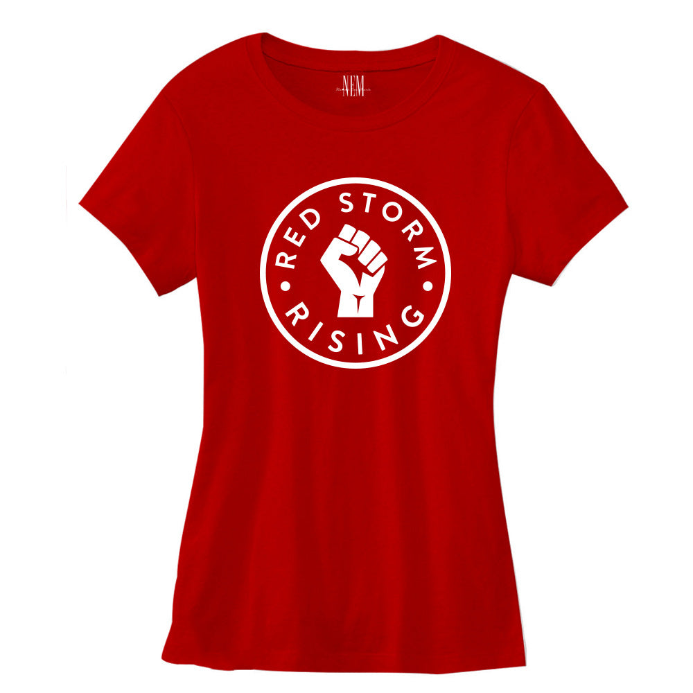 Red Storm Rising Women's Red T-shirt