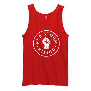 Red Storm Rising Red Tank Top