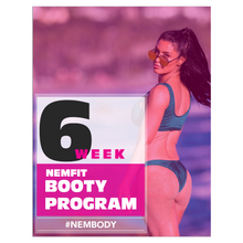 Load image into Gallery viewer, 6-Week Booty Builder Blueprint