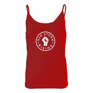 Red Storm Rising Women's Cotton Spandex Bra Tank Top