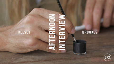 AFTERNOON INTERVIEW: KELSEY BROOKES