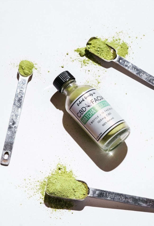 Matcha + Coconut Facial