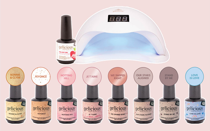 WIN the whole new Gelicious range, 'We Fell In Love'!