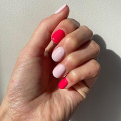 Gelicious gel nail manicure by Colour and Co