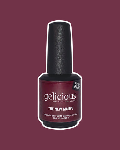 Gelicious The New Mauve bottle