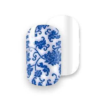 Gelicious Nail Wraps China Bowl