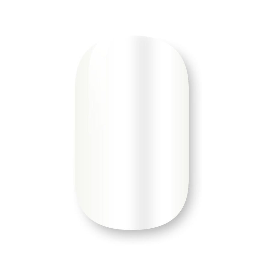 Gelicious Nail Wraps French White