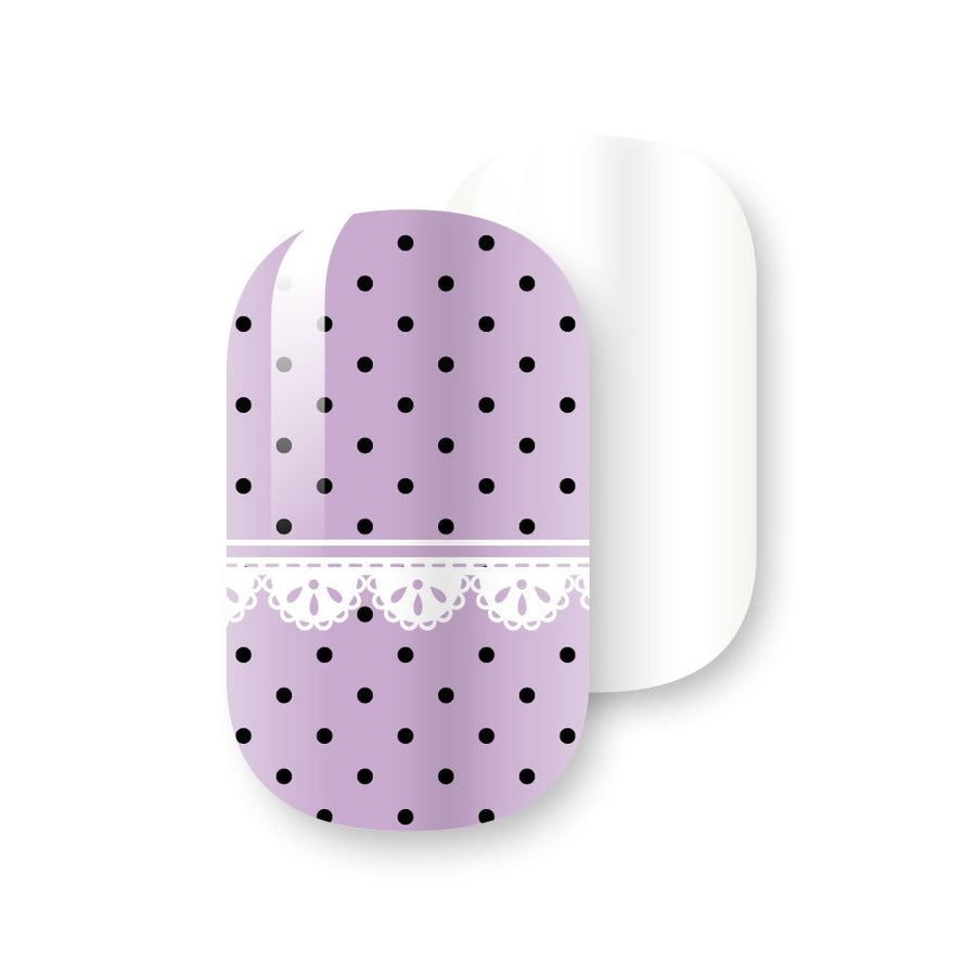 Gelicious Nail Wraps Mauve Over