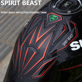 Reflective 3D Motorcycle Tank Protector