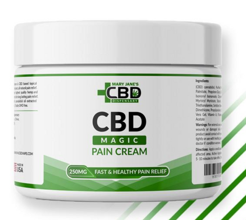 CBD for Pain | Mary Jane's Natural Beauty