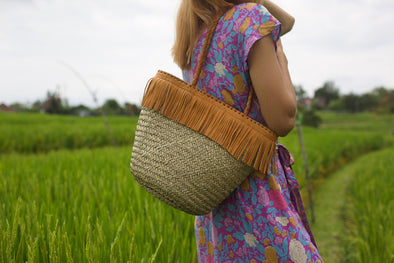 STRAW BAG - KOBI
