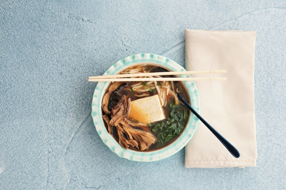 Postpartum Meal Recipe Series: Miso Mushroom Soup