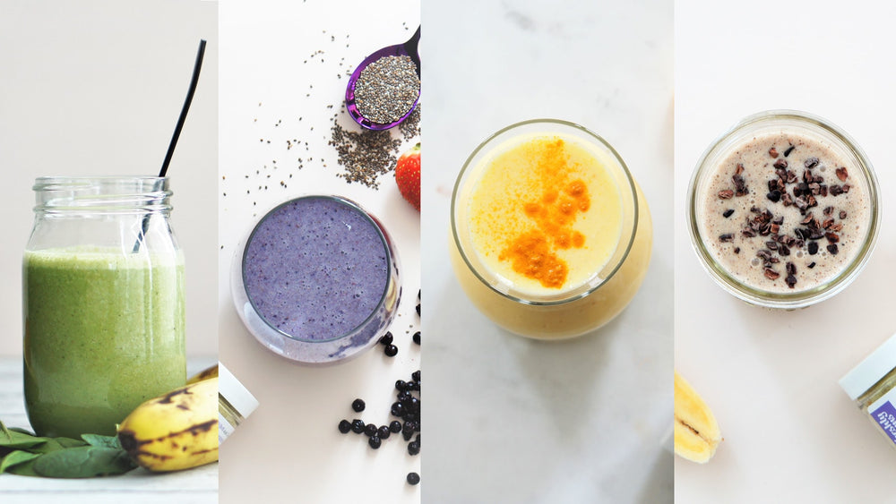 4 ultimate lactation smoothies that also nourish and replenish