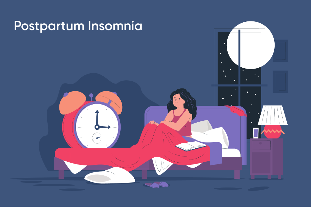 Postpartum Insomnia, An Unexpected Fourth Trimester Issue