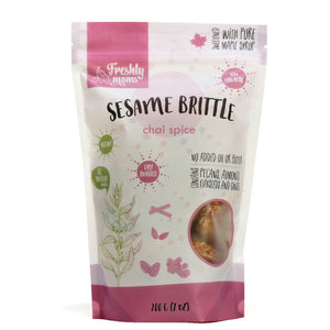Sesame Brittle - Snacking With Benefits
