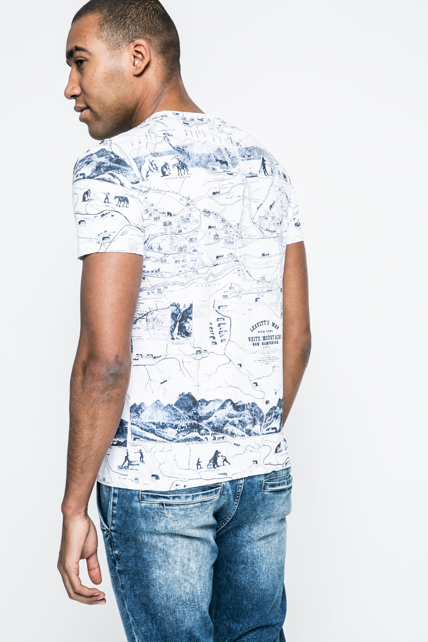 White Mountains T-Shirt (white)