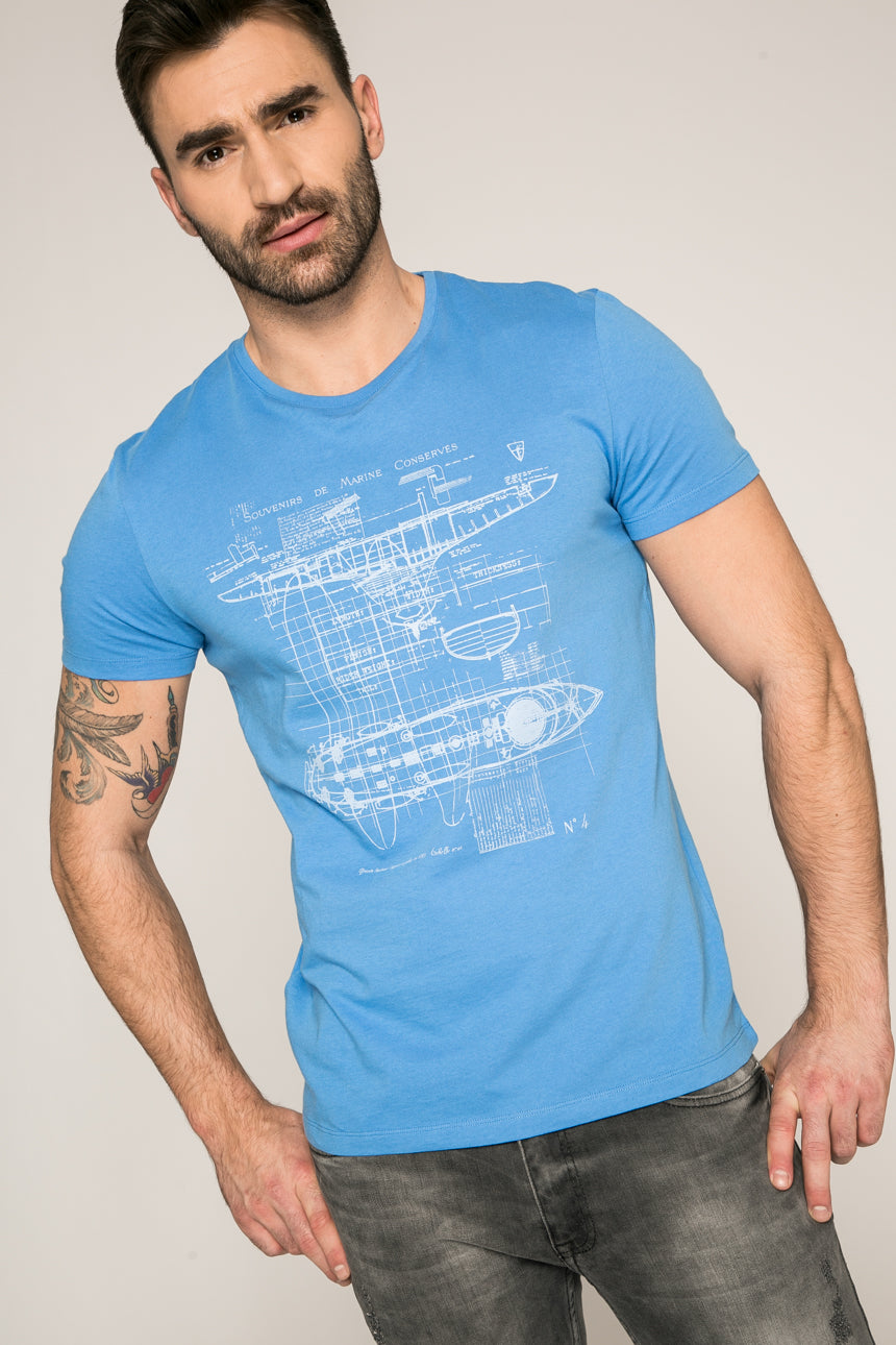Nautical Blueprints T-Shirt