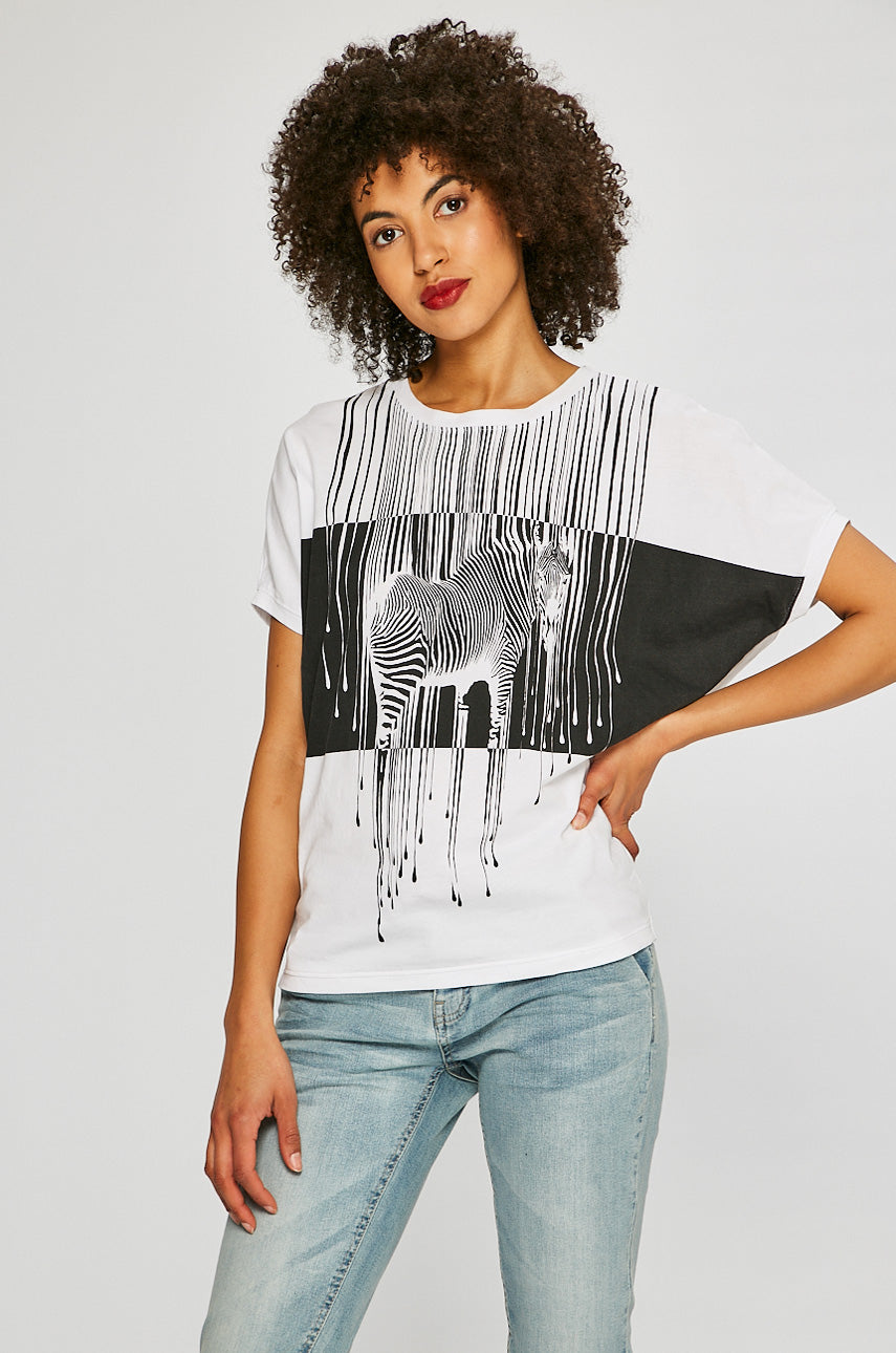 Acid Zebra Top