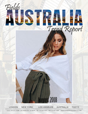 Australia Trend Reports August 2018