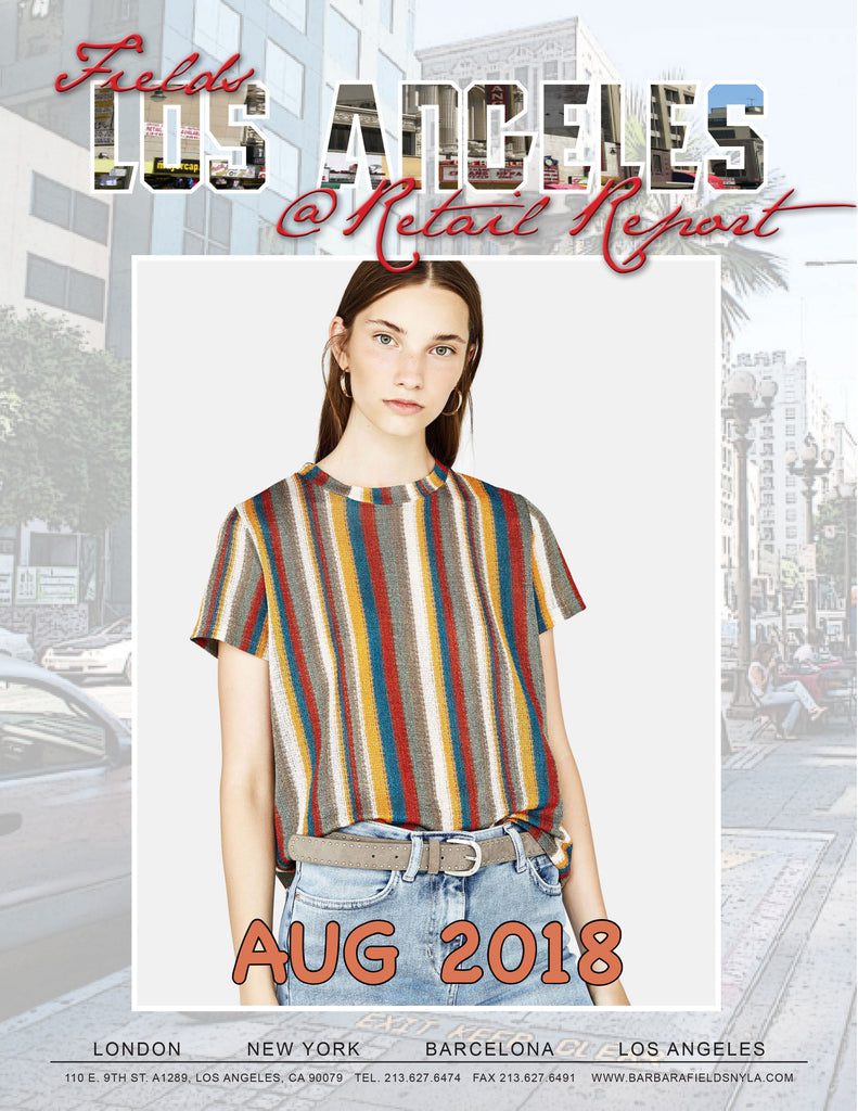 Los Angeles Retail Report August 2018