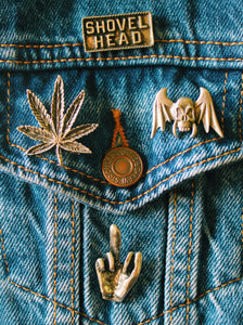 SWEET LEAF PIN
