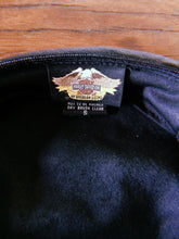 Load image into Gallery viewer, HARLEY DAVIDSON LEATHER CAP