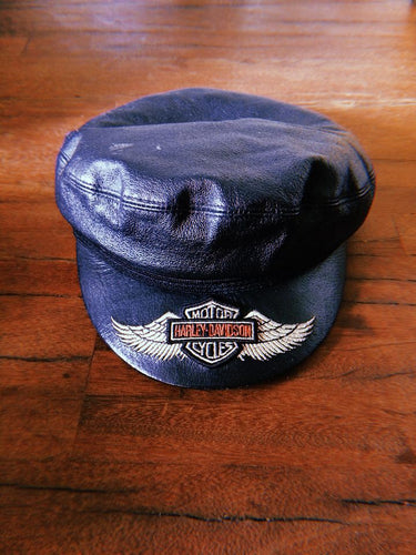 HARLEY DAVIDSON LEATHER CAP