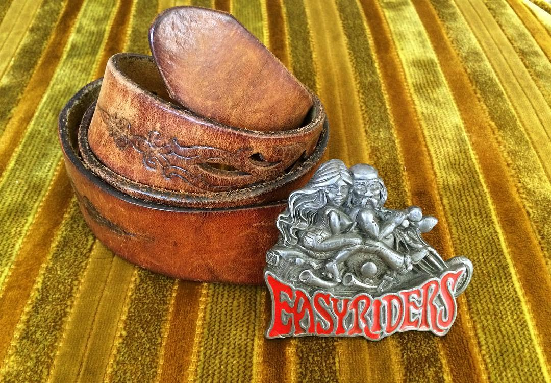 VINTAGE EASYRIDERS BELT BUCKLE