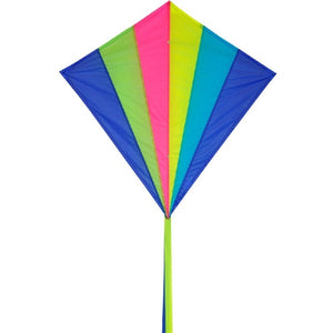 Neon Diamond Rainbow Kite