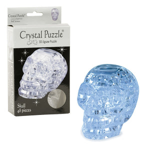 3D Crystal Puzzle - Skull