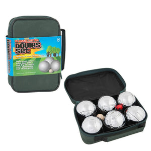 Metal Boules Set of 6