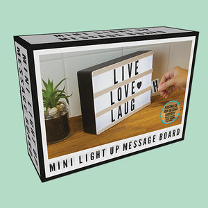 Mini Light Up Message Board